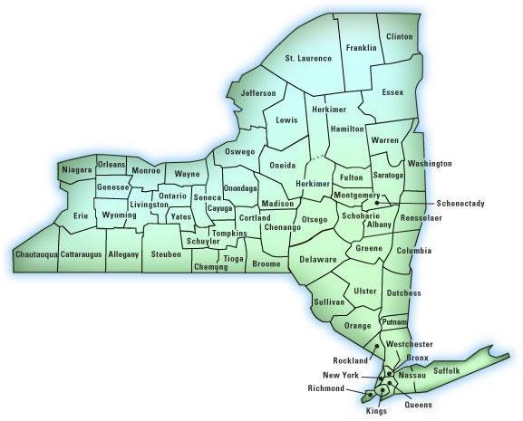 NY-Map