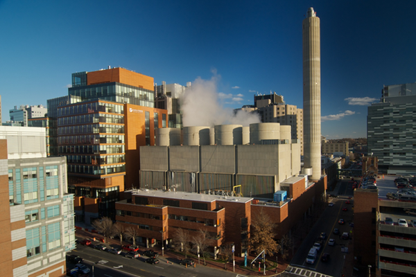 MATEP is a total energy facility and micro-grid located in Boston, MA that has been serving the Longwood Medical and Academic Area (LMA) with steam, chilled water and electricity for almost 30 years.  Centrally built, MATEP is integral to the city's energy infrastructure, providing efficient, sustainable, reliable and resilient energy to a select group of prestigious clinical, research and teaching institutions.  These institutions, which include five hospitals affiliated with the Harvard Institutes of Medicine, provide care to more than 100,000 inpatients and 2.4 million outpatients each year as well as critical research initiatives.